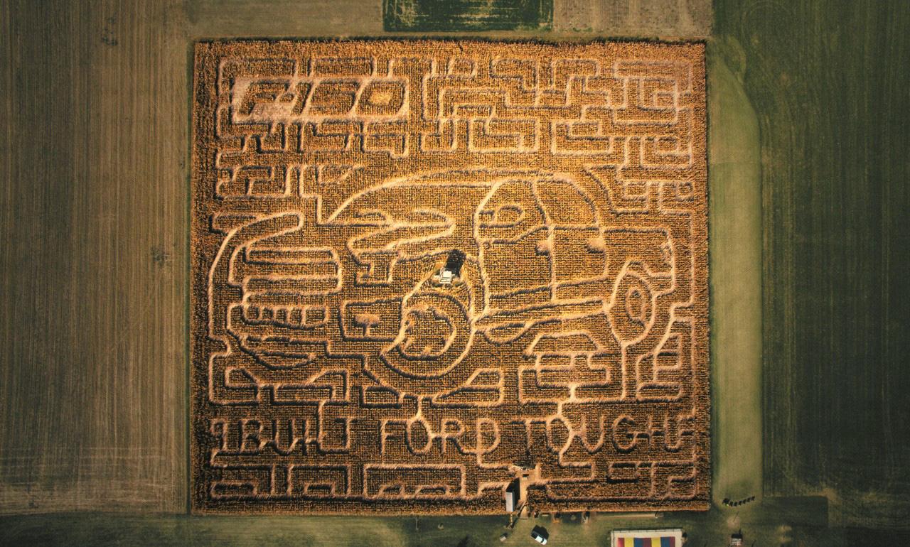 2015 Ford F150 Corn Maze