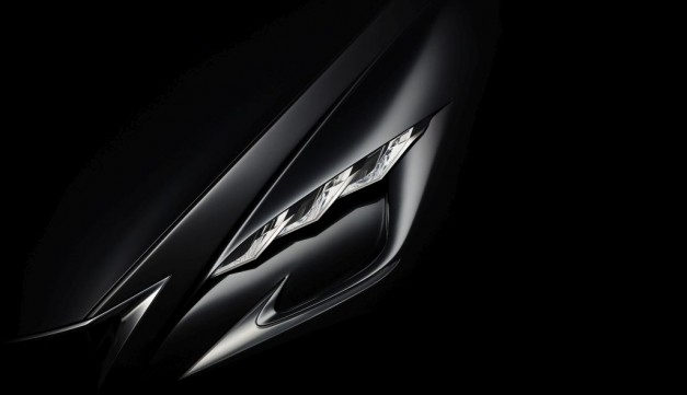 """Lexus teases new """"vision of progressive luxury"""" ahead of Tokyo, likely new LS"""