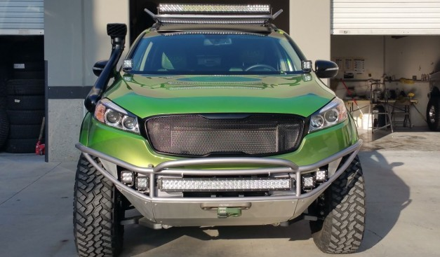 2015 SEMA Preview: Kia teases the PacWest Adventure Sorento