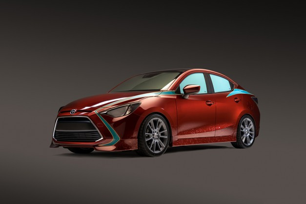2015 SEMA Preview: Scion's iA Concept by Skybound Entertainment and Robert Kirkman's Outcast heads to Vegas