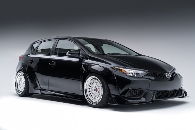 2015 SEMA Preview: The Scion iM Crooks & Castles Concepts is another contestant for the Scion Tuner Challenge