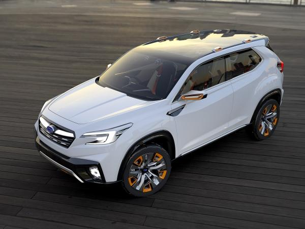 Subaru confirms a new three-row crossover that will be built in America