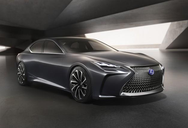2015 Tokyo: The Lexus LF-FC Flagship Concept previews the next-generation LS