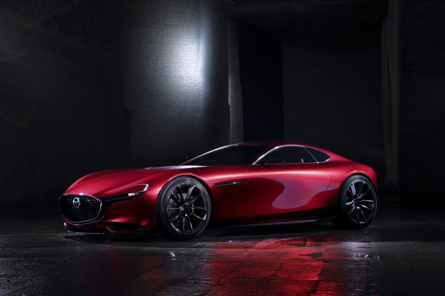 Report: Mazda apparently downplays production RX revival