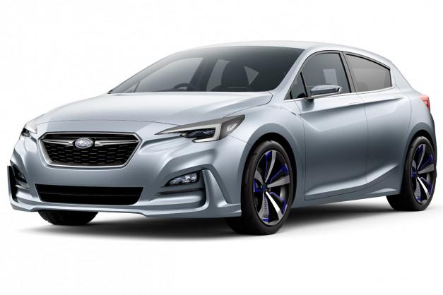 2015 Tokyo: Subaru pulls the sheets off of the Impreza 5-Door Concept