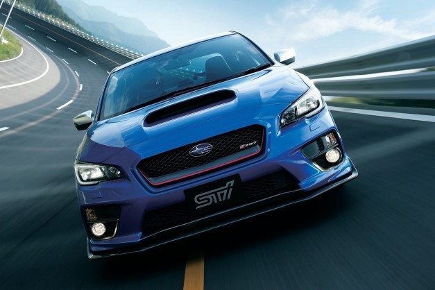 Report: The next-gen Subaru WRX STI could have 325hp+ from a hybrid powertrain