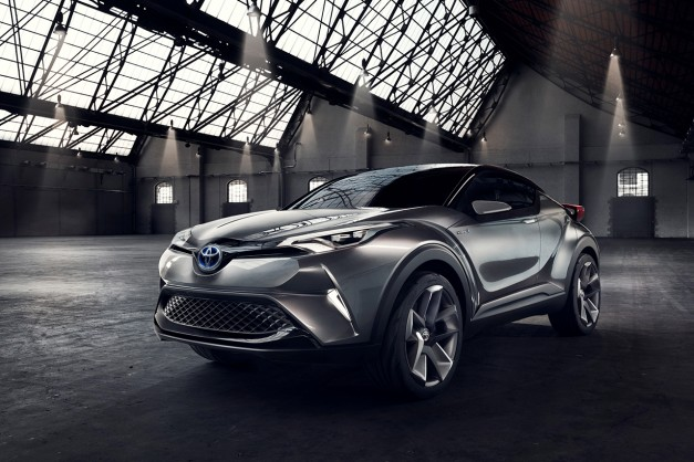 Report: A production Toyota C-HR Concept could happen by next year