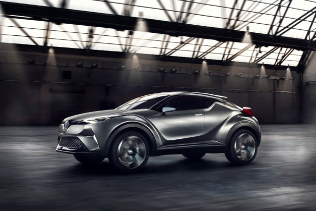 Production Toyota C-HR Crossover to surface at Geneva Auto Show