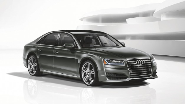 The 2016 Audi A8 L 4.0T Sport gets added to the lineup here in the US of A