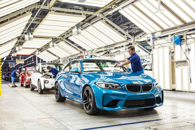 The BMW M2 begins production to the excitement of driving enthusiasts everywhere