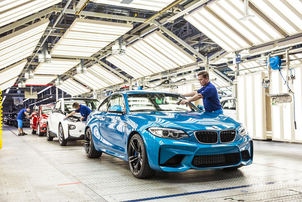 2016 BMW M2 Production