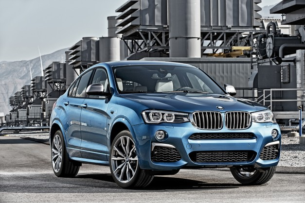 Say hello to BMW's updated and stupidly named X4 M40i, 3.0L 355hp I6 and all