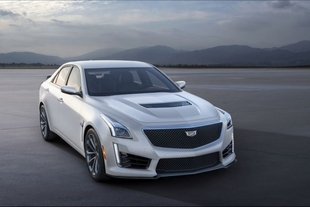 Cadillac reveals new Crystal White Frost Editions of 2016 ATS-V and CTS-V