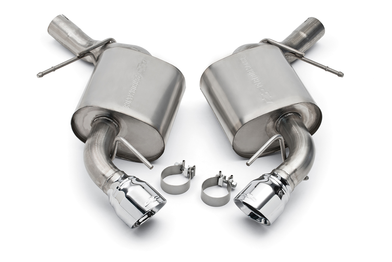 performance exhaust kits are available for camaro ss with th egmcartech. Black Bedroom Furniture Sets. Home Design Ideas