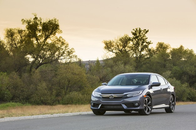 The 2016 Honda Civic starts at $18,640