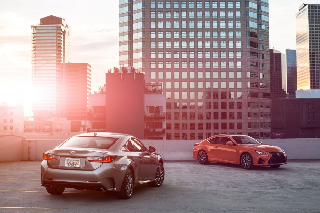The 2016 Lexus RC Coupe gains new 2.0L turbo four