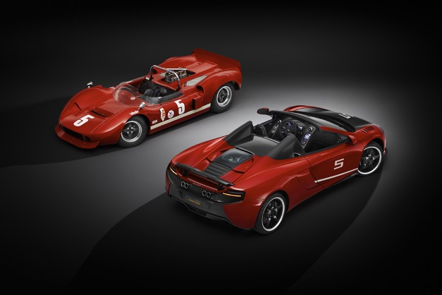 McLaren pays homage to the Can Am with 50th anniversary limited edition 650S Spider