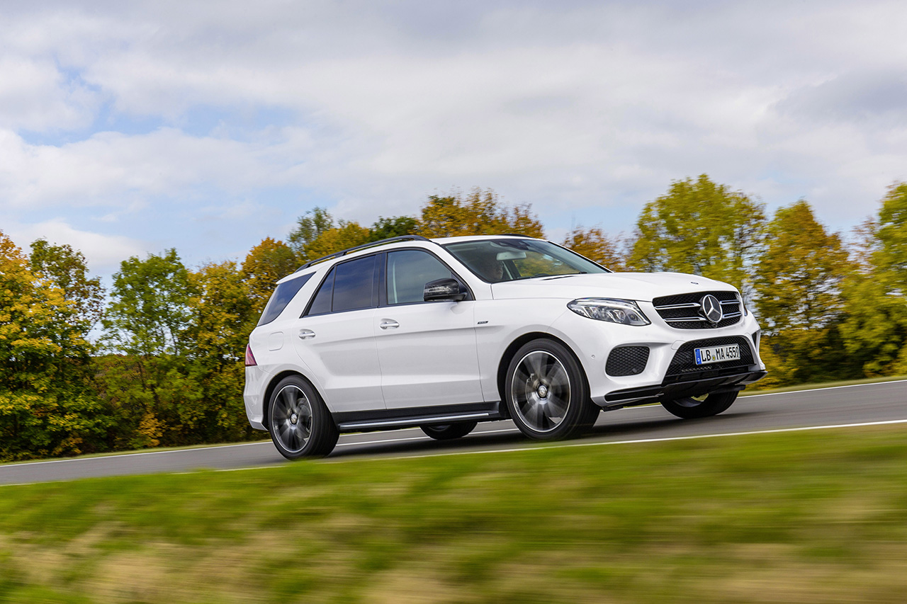 2016 mercedes benz gle 450 amg sport 4matic egmcartech for Sporty mercedes benz
