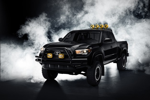 Hey! Check out that new 4×4! Toyota unveils Back to the Future Tacoma in full w/ poll