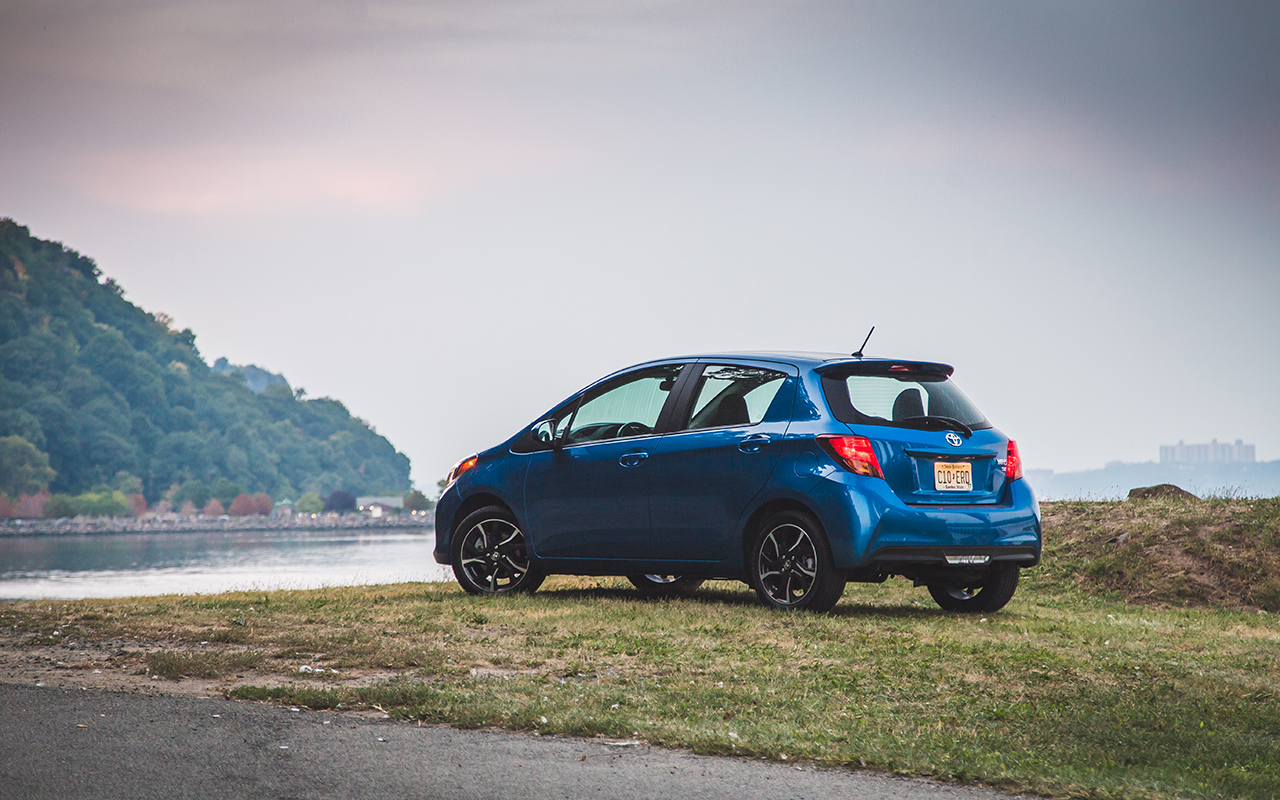 Review: The 2016 Toyota Yaris SE with a five-speed manual proves going back to basics doesn't ...