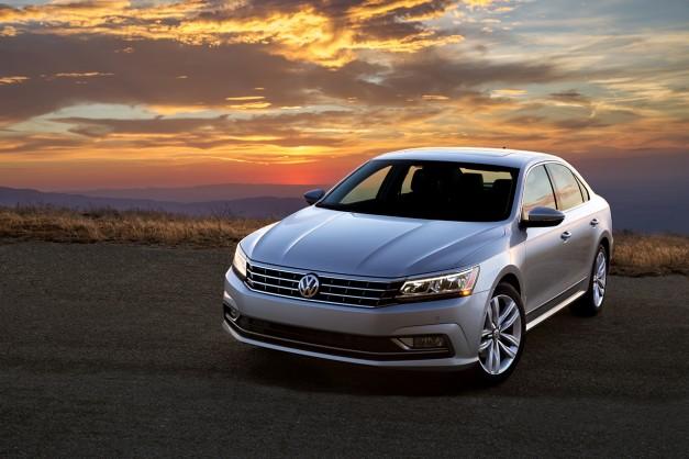 The 2016 Volkswagen Passat priced at $22,440