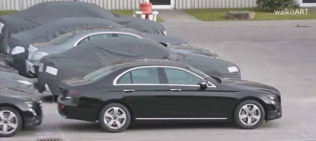 Video: This moving picture bit gets the best glance at the W213 Mercedes-Benz E-Class