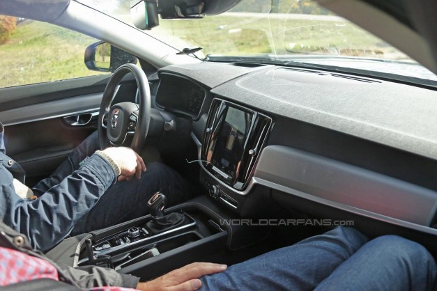Spy Shots: Here's our first glimpse at the interior of the new Volvo S90