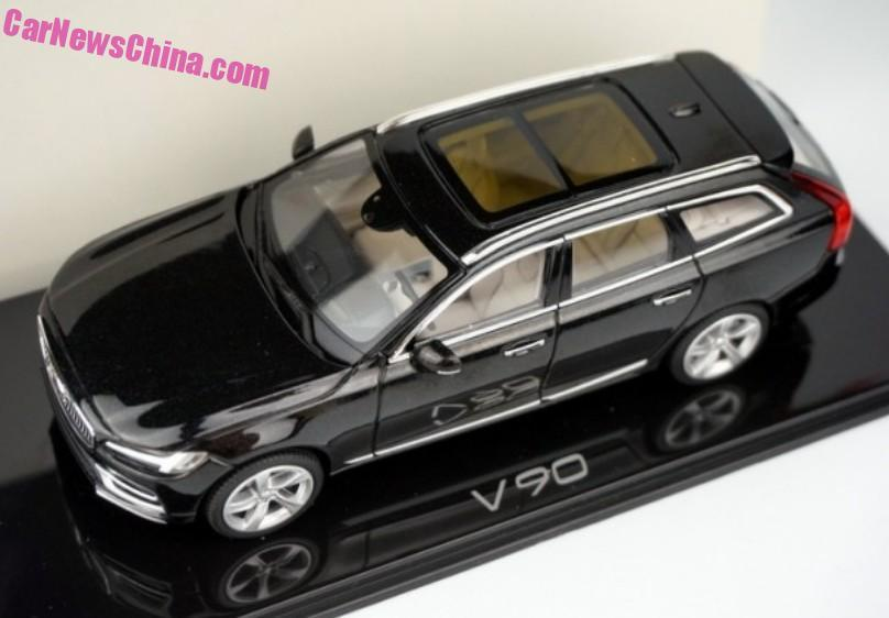2017 Volvo V90 Scale Model Leak