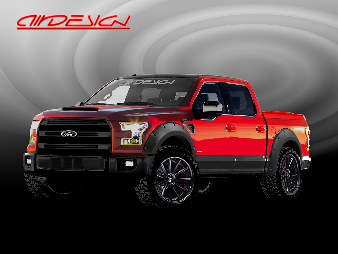 AIRDESIGN USA Ford F-150 Supercrew