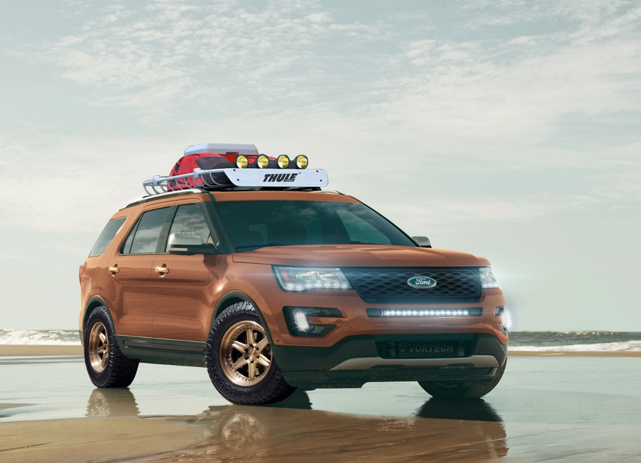 All Star Performance Ford Explorer Concept - 2015 SEMA