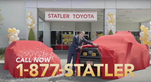 Video: Toyota teases Back to the Future-inspired Tacoma