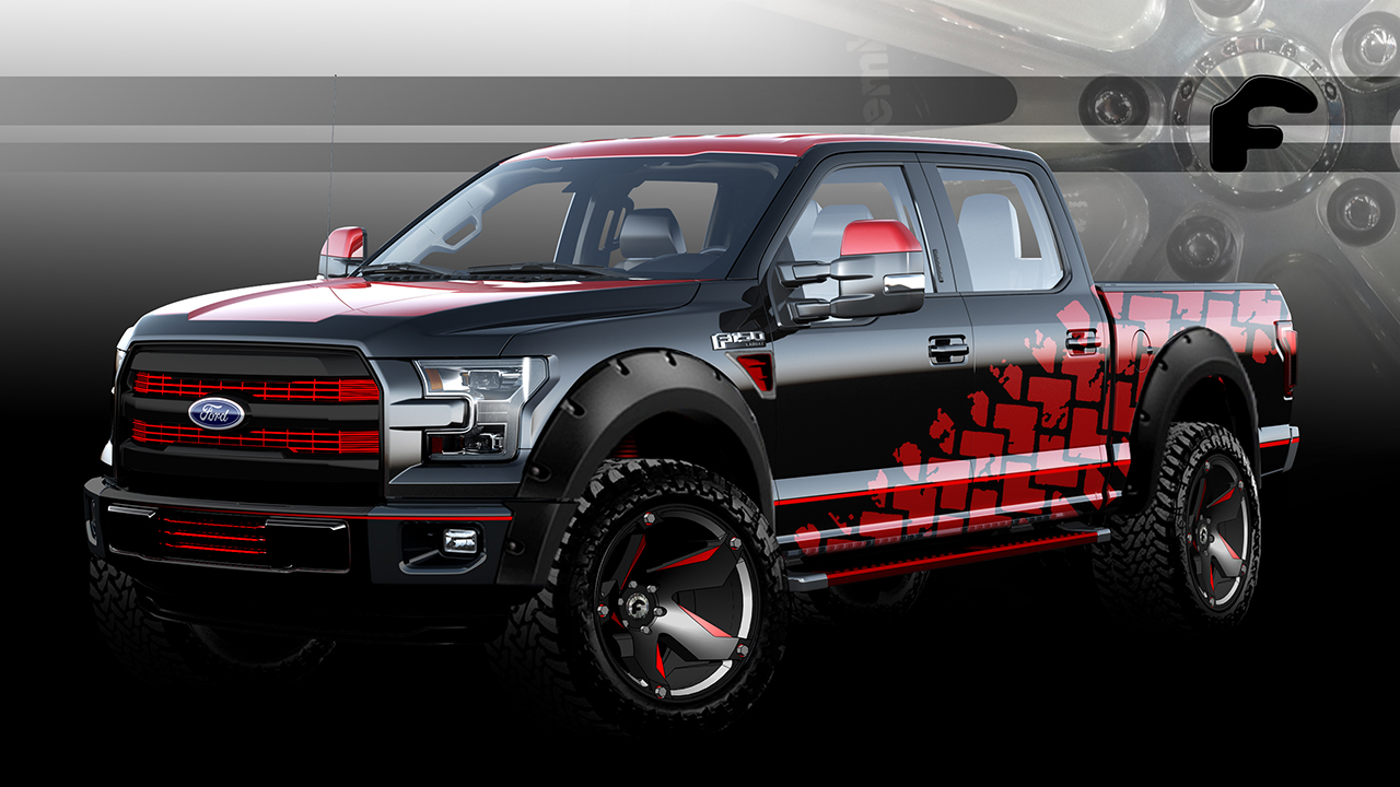 2015 sema preview ford teases seven new f150 concepts for las vegas this year egmcartech. Black Bedroom Furniture Sets. Home Design Ideas