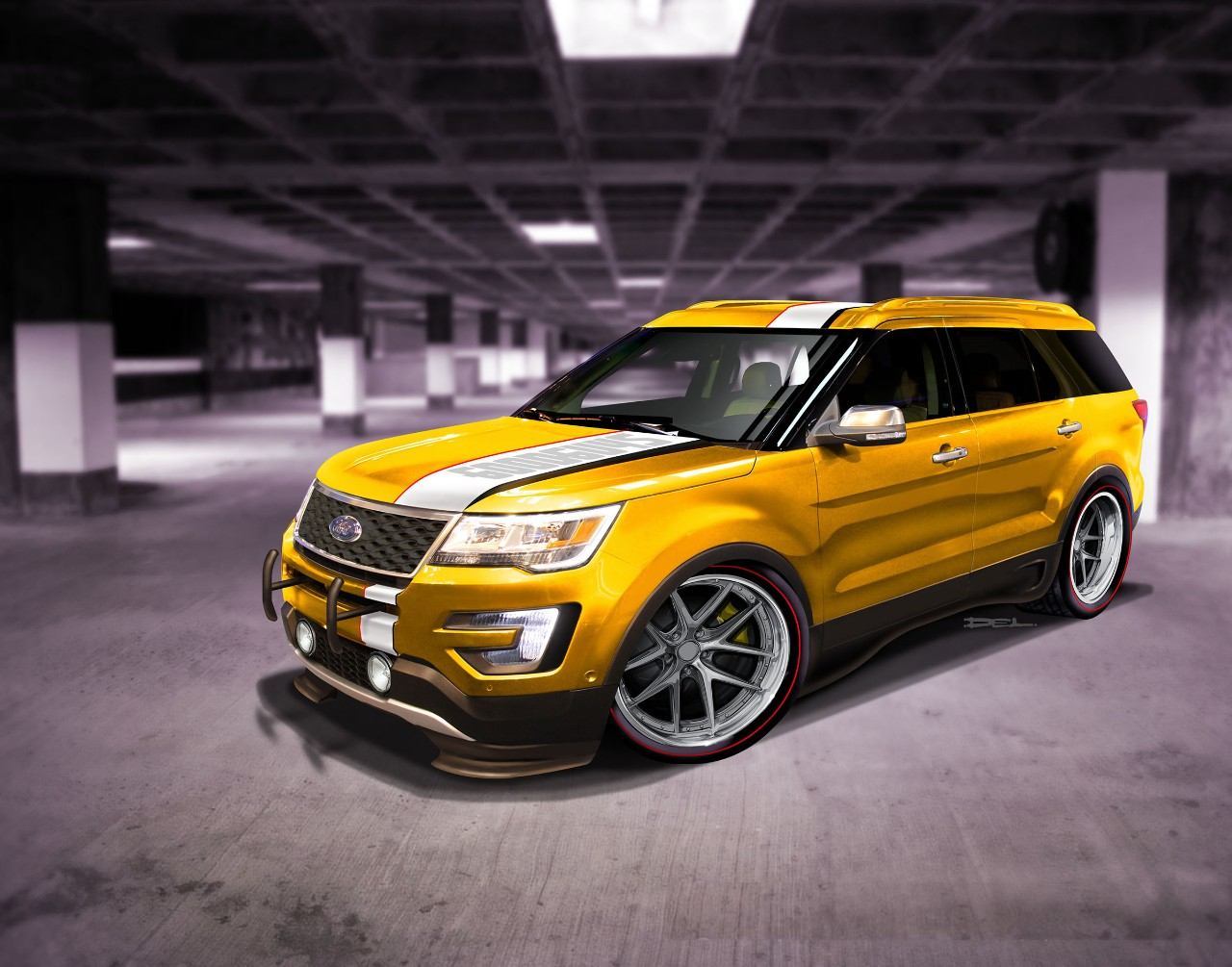 2015 Sema Preview Ford Reveals New Explorer Sport