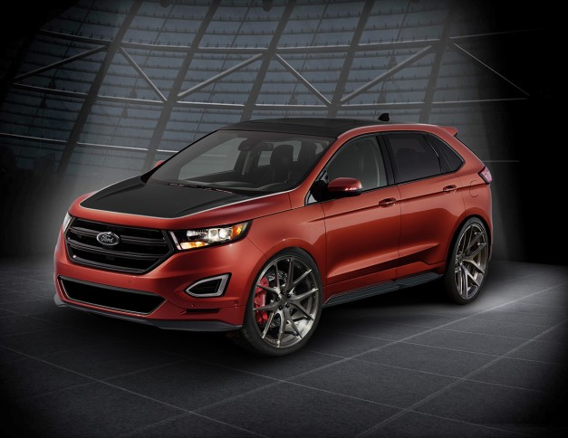 2015 SEMA Preview: Ford showcases new Edge Concepts, heading to this year's show w/ video