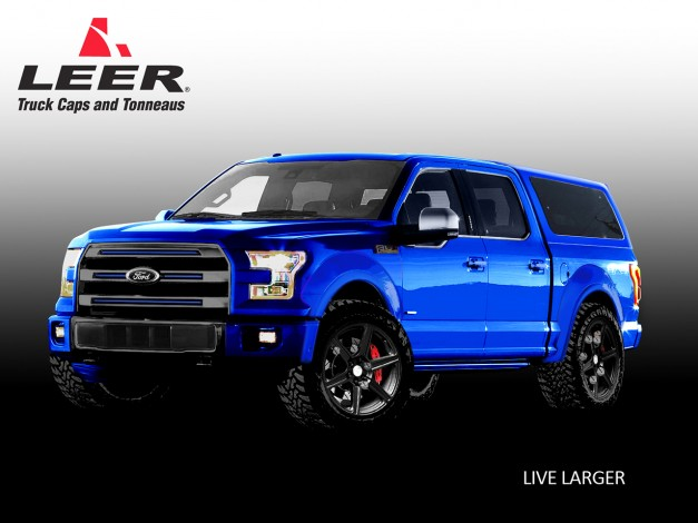2015 SEMA Preview: Ford teases seven new F150 concepts for Las Vegas this year