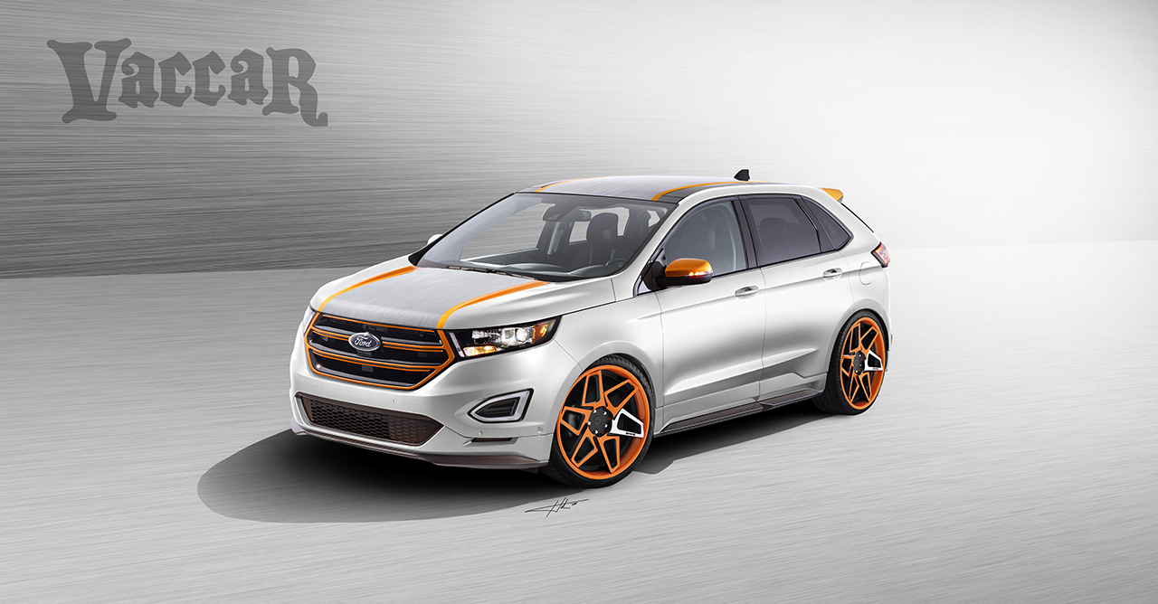 2015 sema preview ford showcases new edge concepts heading to this year 39 s show w video. Black Bedroom Furniture Sets. Home Design Ideas
