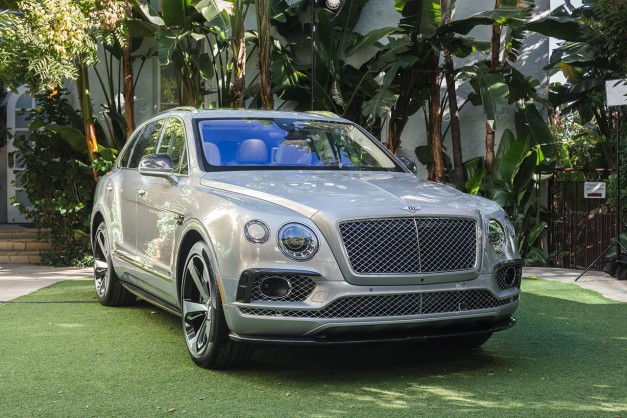 2015 LA Preview: Bentley Bentayga First Edition introduces North America's version