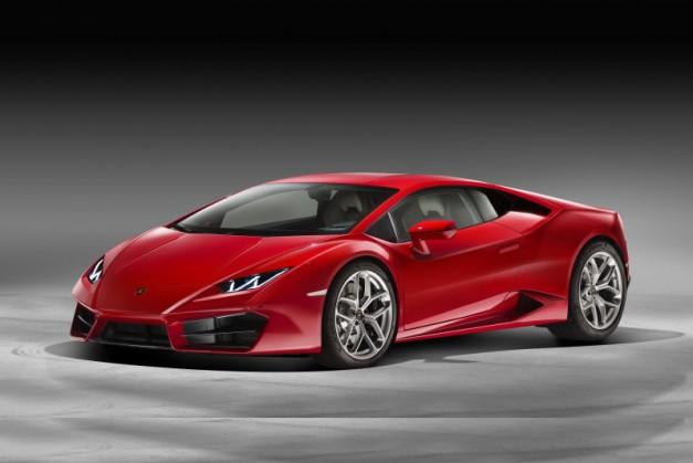 2015 LA Preview: The Lamborghini Huracan LP 580-2 is the first two-wheel drive Huracan