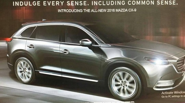 Photo Leak: The 2016 Mazda CX-9 gets leaked ahead of LA debut