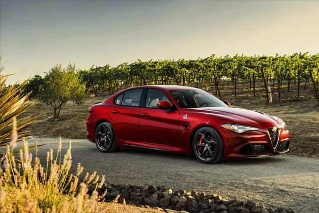 2015 LA Preview: The US-Spec 2017 Alfa Romeo Giulia gets detailed in the City of Angels