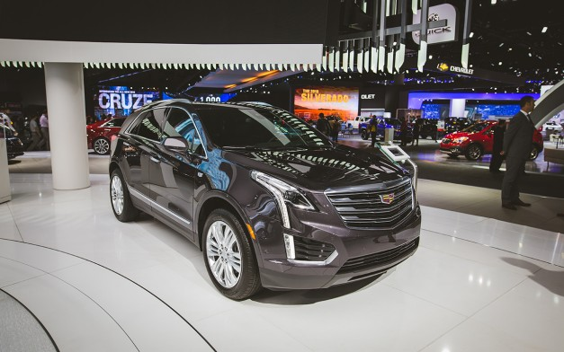 You'll need $38,995 of your hard-earned to enter the world of the 2017 Cadillac XT5