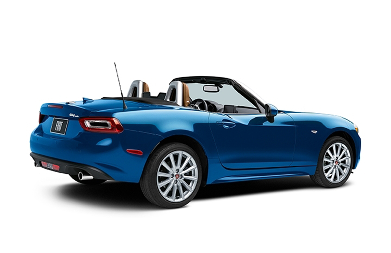 2017 fiat 124 spider prima edizione lusso egmcartech. Black Bedroom Furniture Sets. Home Design Ideas