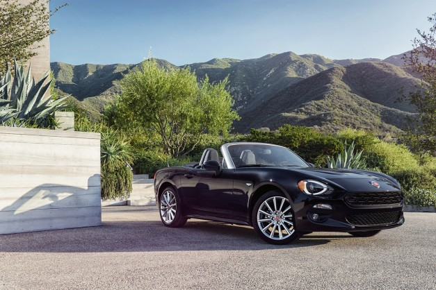 2015 LA Preview: The highly-anticipated 2017 Fiat 124 Spider is Italy's interpretation of a Mazda Miata