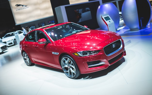 2015 Los Angeles: The 2017 Jaguar XE pounces into onto US soil for the first time at an auto show