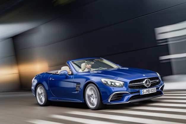 This is the new 2017 Mercedes-Benz SL-Class