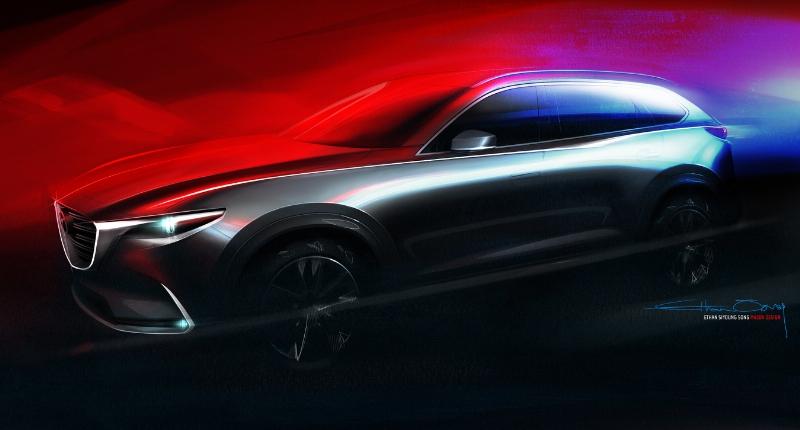 2015 LA Auto Show Mazda CX-9 Teaser