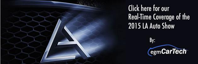 2015 LA Auto Show egmCarTech Logo