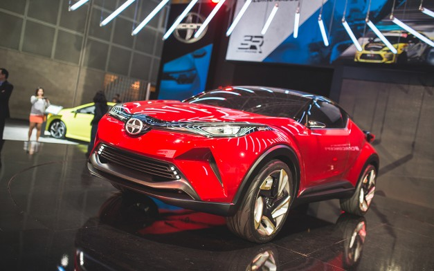 2015 Los Angeles: The Scion C-HR Concept lands on US soil after Tokyo reveal as a Toyota