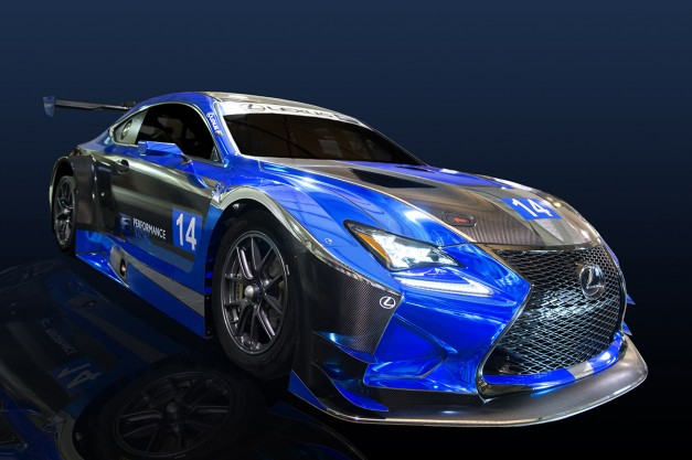 2015 SEMA: Lexus announces F Performance Racing Team