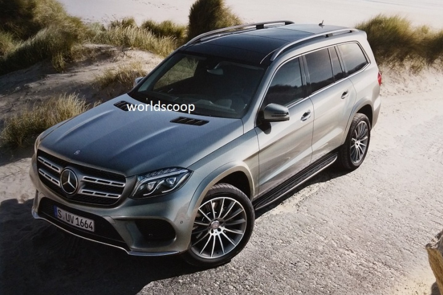 2015 Mercedes-Benz GL Photo Leak - WorldScoop
